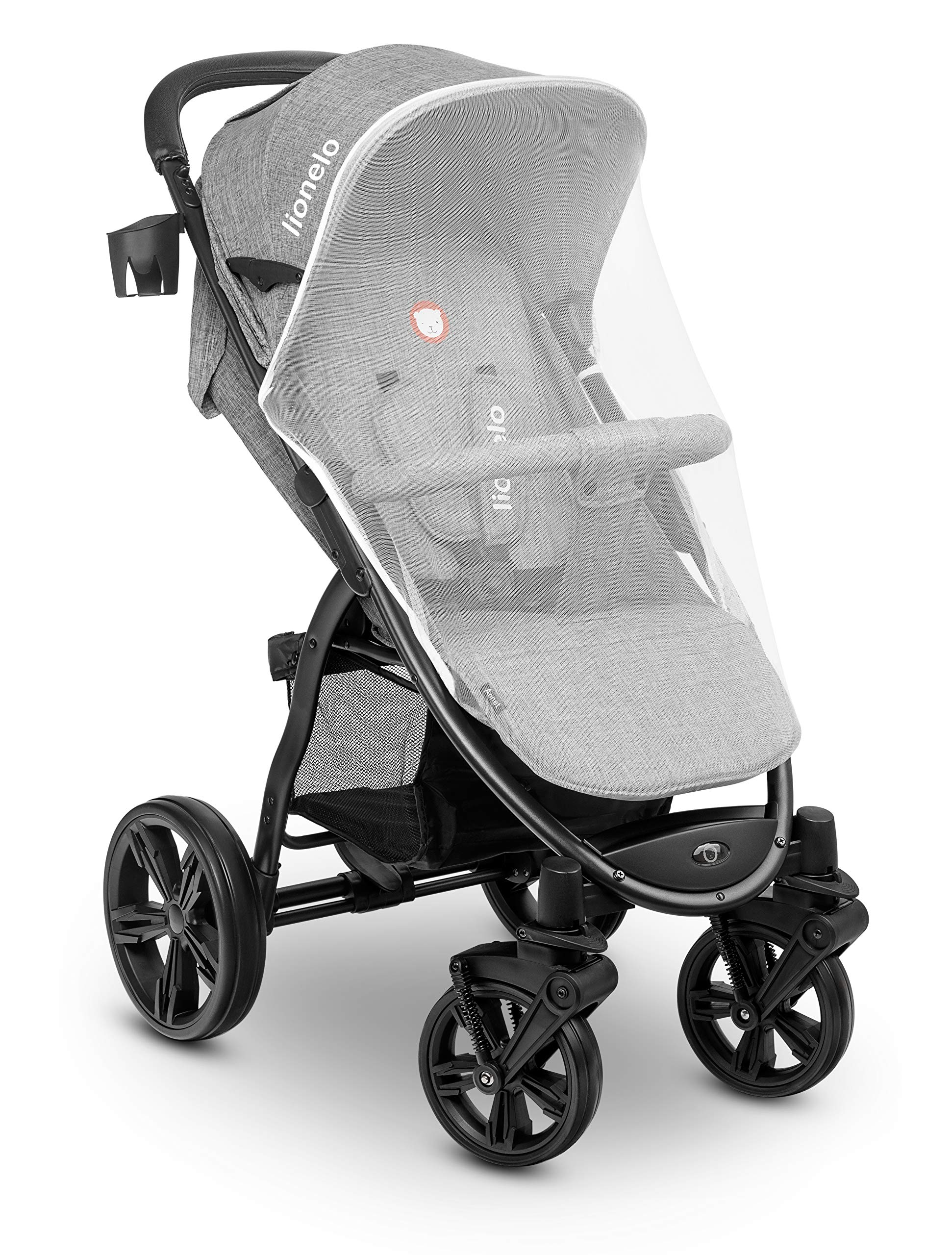 Lionelo 5902581656278 LO-Annet Concrete Stroller Pushchair (Light-Gray)   3