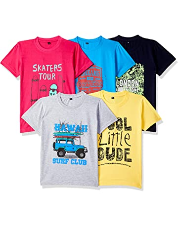 102b8e96f37d3 T-Shirts for Boys: Buy Boy's T-Shirts Online at Low Prices in India ...