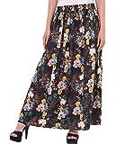 COTTON BREEZE Women's Cotton Long Skirt (FP362)