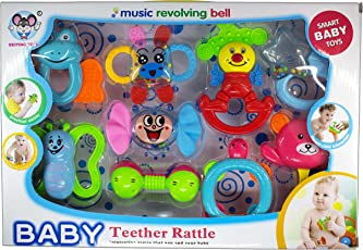 Babygo Musical Rattle and Teether Toy Set
