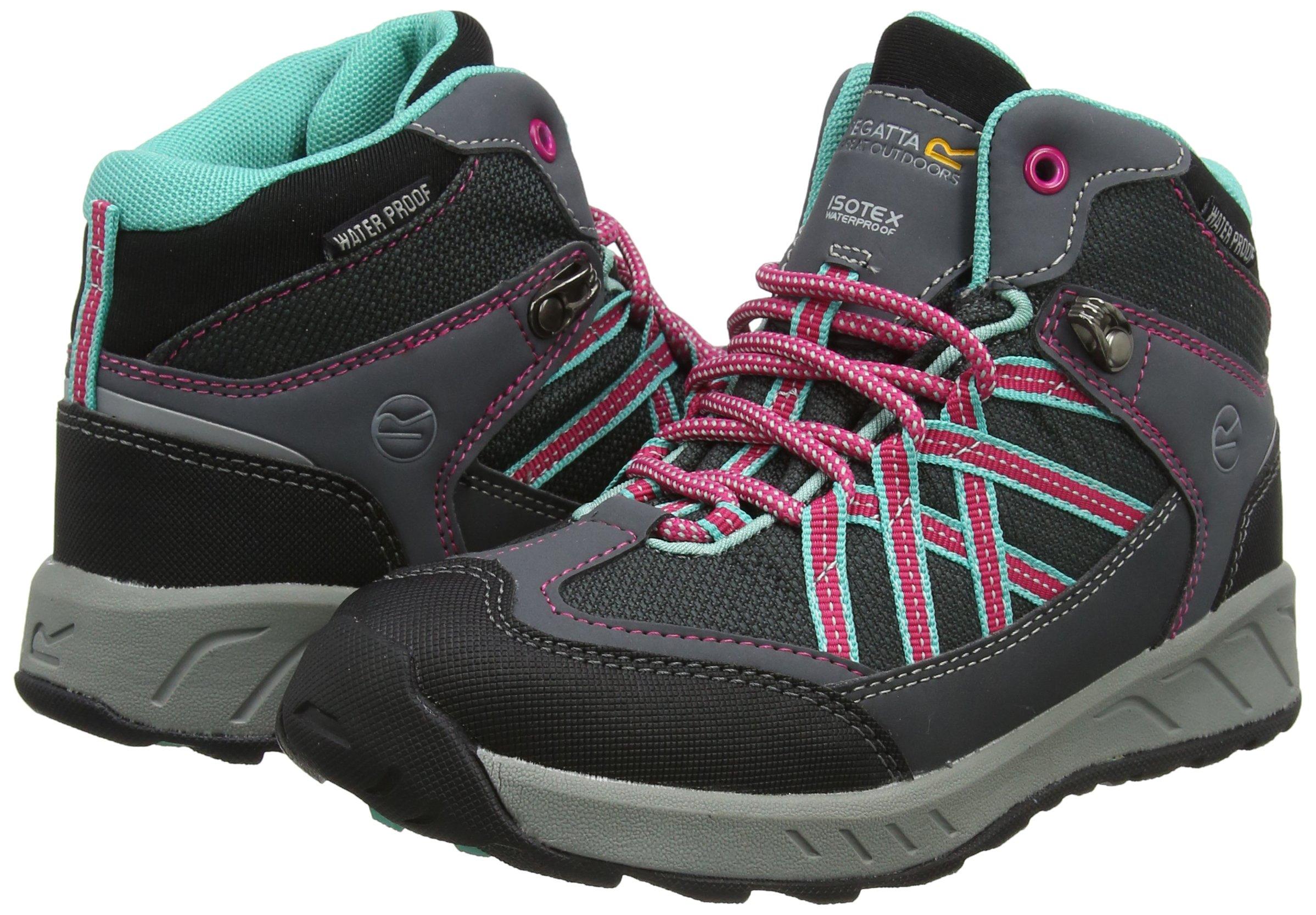Regatta Samaris Mid Jnr, Girls' High Rise Hiking Boots 5
