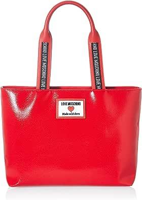 Love Moschino Precollezione Ss21, Borsa Shopper da Donna, Sporty Label, Normal