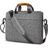 Inateck Borsa Porta PC 15 15.6 Pollici Impermeabile Custodia pc 15.6 Pollici Laptop Spalla Borsa con Cintura Trolley Compatib