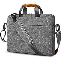 Inateck 15.6 Zoll Laptoptasche 15 Zoll Aktentasche Laptop Hülle mit Griffen Gepäckgurt abnehmbarem Schulterriemen…