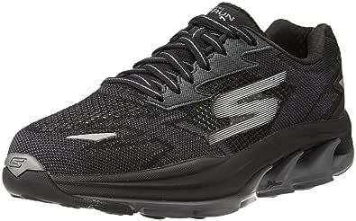 anfitrión Comparar Culpable  Buy Skechers Men's Go Run Ultra R - Road Black and Grey Running Shoes -10  UK (11 US) (45 EU) at Amazon.in