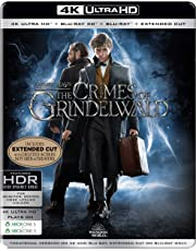 Fantastic Beasts: The Crimes of Grindelwald (Steelbook) (4K UHD + Blu-ray 3D + Blu-ray + Extended Cut) (4-Disc)
