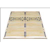 ECOFORM Lattenrost MIT Härtegradregulierung 120/140/160/180/200 x 200 - vom Hersteller (120 x 200 cm)