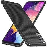 iBetter Coque pour Samsung Galaxy A50, Silicone Ultra Mince Solide, Durable, pour Samsung Galaxy A50 Smartphone. Noir