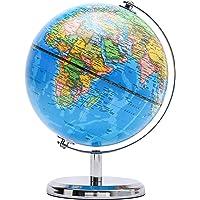 Exerz Schülerglobus 20cm Globus Mit einem Metallfuß - Englische Karte - Pädagogisch/Geografisch/Dekoration - Durchmesser…