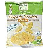 Jardin BiO étic Chips de Lentilles aux petits Oignons