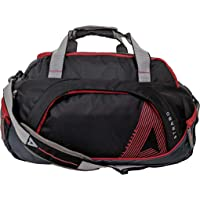 STRABO Columbia Nylon Travel Luggage Duffel Bag in Black 60 L