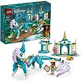 LEGO 43184 Disney Princess Raya en Sisu Draak Bouwset met Raya Poppetje, Speelgoed met Figuur voor Kinderen van 6 Jaar en Oud