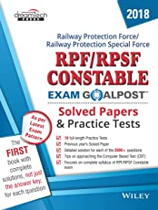 RPF/RPSF Constable Exam Goalpost Solved Papers and Practice Tests, 2018