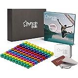 myHodo Magnetkugeln bunt (8 Farben) Set mit Gratis Ebook und Zubehör, 100 Stück, Stresskiller, Anti Stress Geschenkidee, Magn