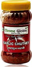 OZONE GLOBLE Garlic Chutney, 400 grams