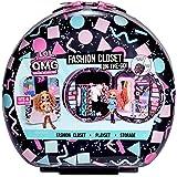 LOL Surprise OMG Fashion Closet On-The-Go, Stijlvolle Koffer, Vanaf 6 Jaar, Geschikt voor 4 Modepoppen, Met exclusieve access