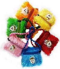 Confidence Designer Pocket Money Purse, Sling Bag Stylish for Girls Kids for Picnic, 6 Pcs, Multicolor, 50 Gram, Pack of 1