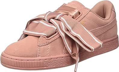 PUMA Damen Suede Heart Satin Ii Sneaker: : Schuhe