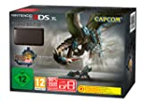 Nintendo 3DS XL - Konsole, schwarz + Monster Hunter 3 Ultimate (vorinstalliert)