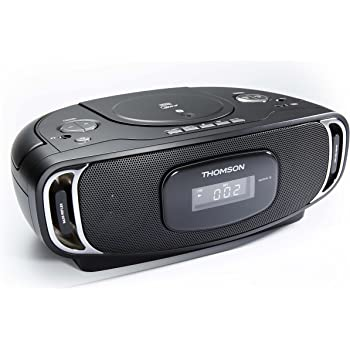 thomson rcd 400 radio radio r veil lecteur cd mp3 port usb lecteurs mp3 casques. Black Bedroom Furniture Sets. Home Design Ideas