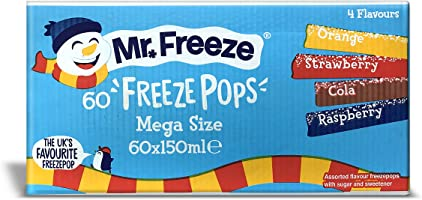 Mr Freeze Ginormous 60 x 150 ml