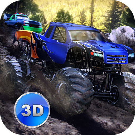 Monster Trucks Rally Racing [Mac - Racing Räder Rallye