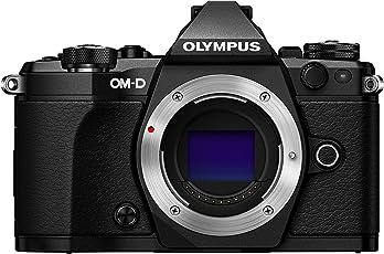 Olympus OM-D E-M5 Mark II Mirrorless Camera, Body Only (Black)