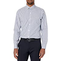 Marchio Amazon - Buttoned Down Tailored Fit Pattern Uomo