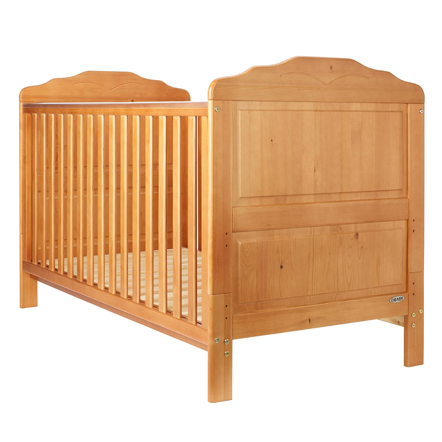 . Obaby Beverley Cot Bed  Country Pine   Amazon co uk  Baby