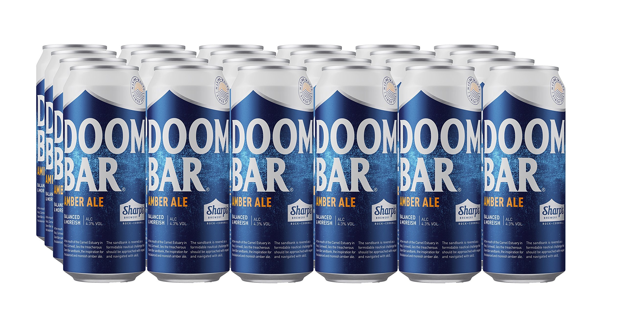 Sharps Doom Bar 24 X 500ml Cans