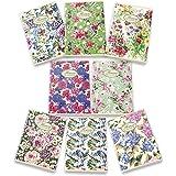 Pigna 02088361R Nature Flowers Quaderno formato A4, Rigatura 1R, righe per medie e superiori, Carta riciclata 80g/mq, confezi