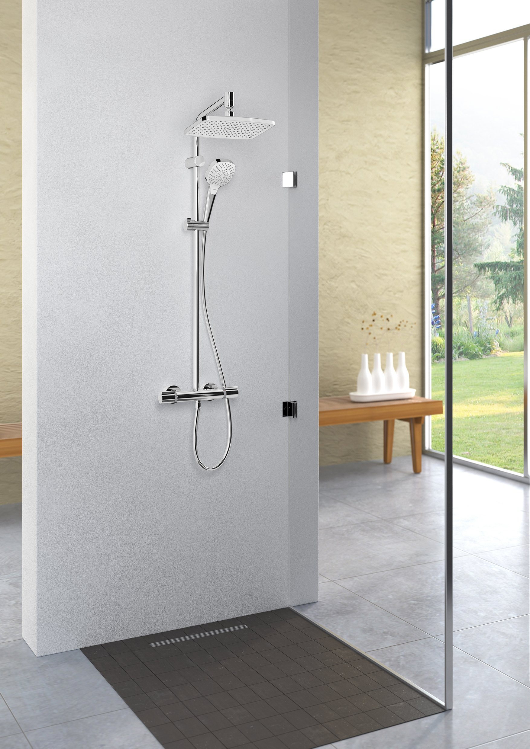 hansgrohe colonne de douche showerpipe myselect inspid co. Black Bedroom Furniture Sets. Home Design Ideas