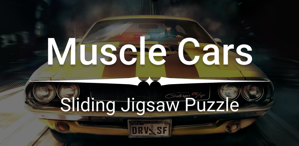 Muscle Cars Sliding Jigsaw Screenshot