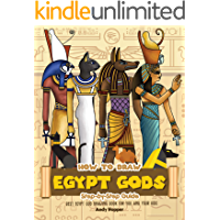 How to Draw Egypt Gods Step-by-Step Guide: Best Egypt God Drawing Book for You and Your Kids