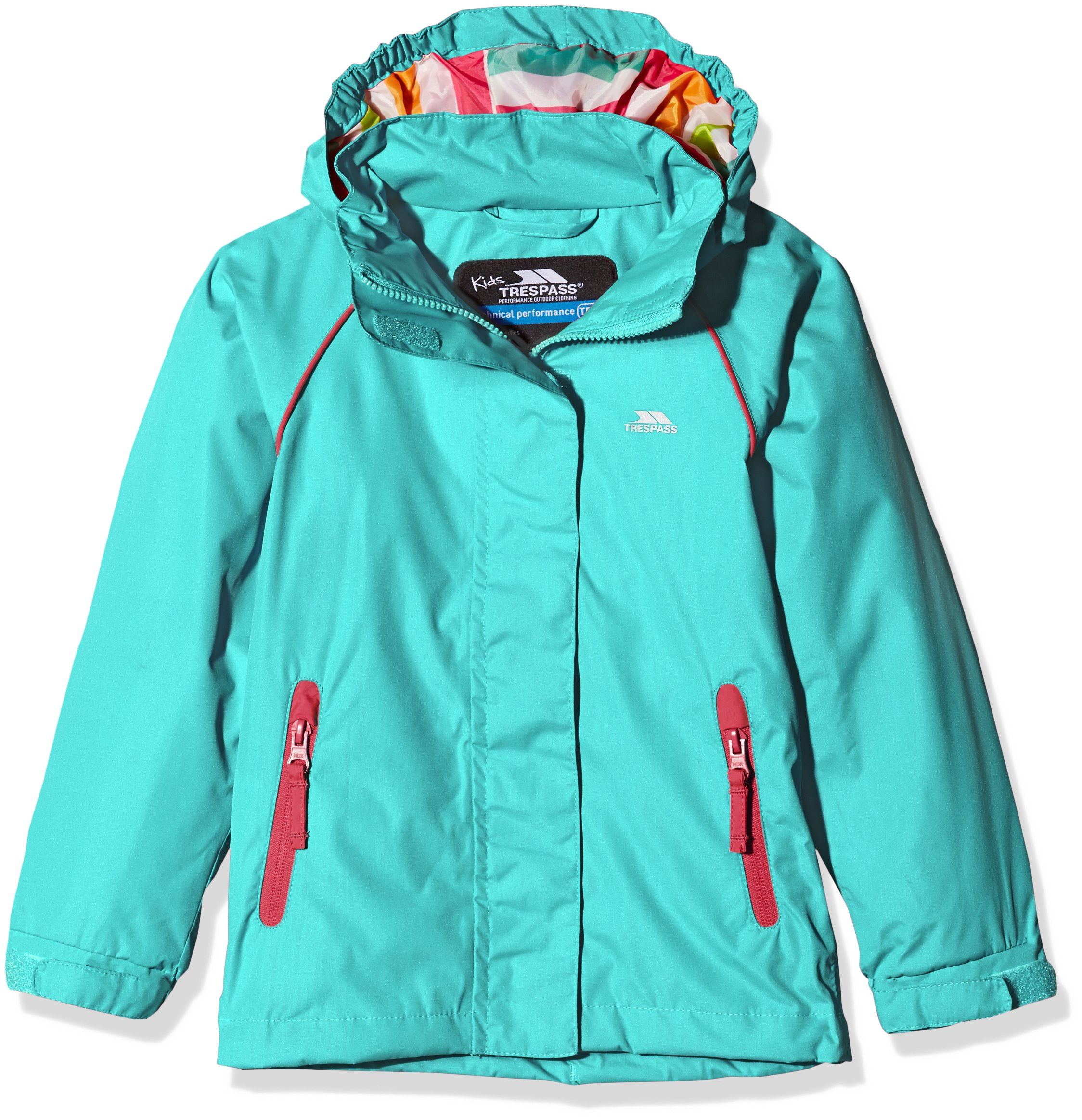 Trespass Kids' Lunaria Waterproof Rain/Outdoor Jacket