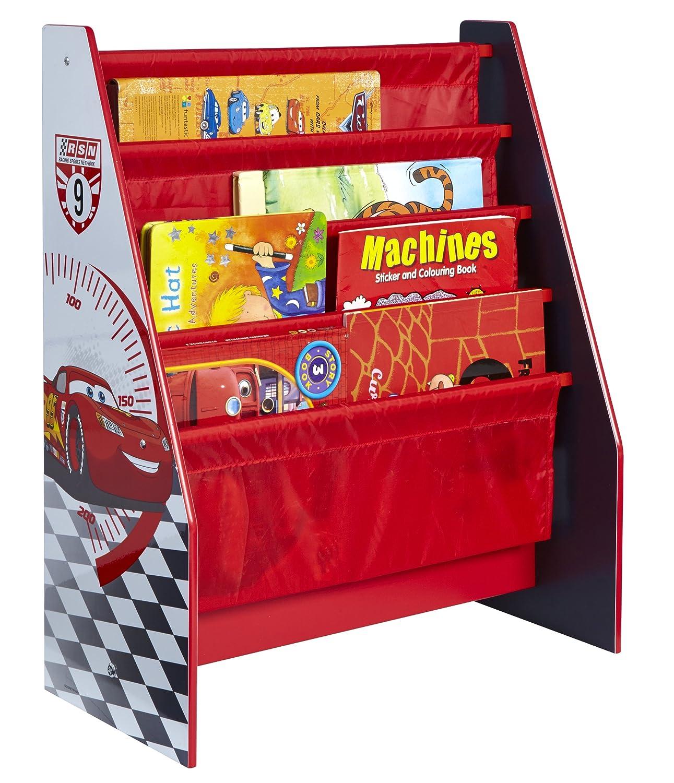 Disney Cars Biblioth¨que Bois Rouge 51 x 23 x 60 cm Amazon