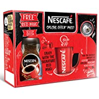 Nescafe Classic Coffee, 200g Jar with Free Red Mug and Scoop Spoon