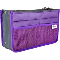 Periea® Handbag Organiser - Chelsy - 28 Colours Available - Small, Medium & Large (Purple, Small)