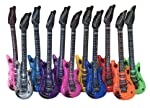 babygiraffe® 4pcs Inflatable Toy Guitars 90cm Party Accessories