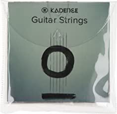 Kadence Steel Acoustic Guitar String (Silver, KAD-STR-A)