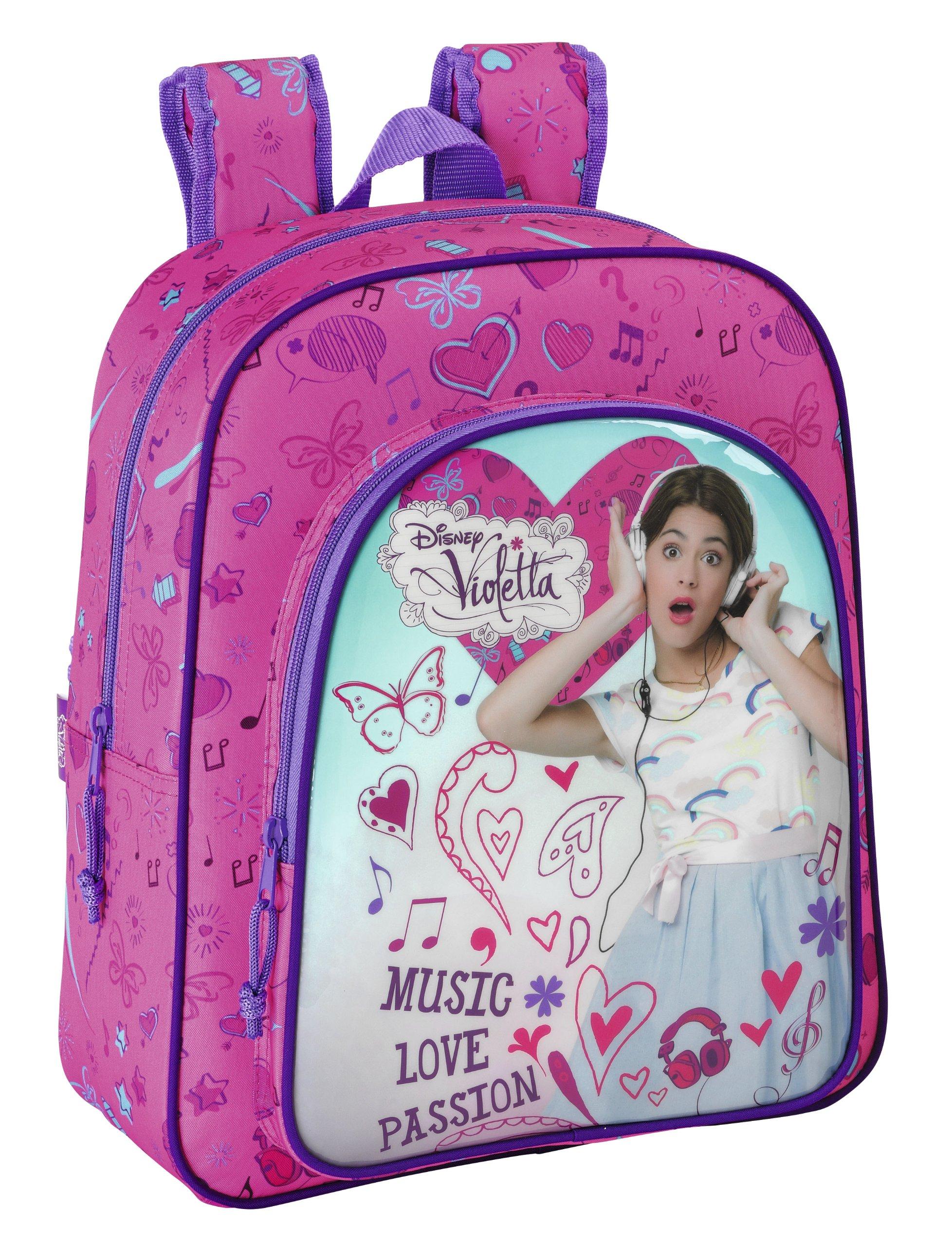 Violetta – Mochila Junior Adaptable, 32 x 38 x 12 cm (SAFTA 611347640)