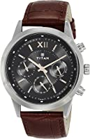 Titan Neo Analog Black Dial Men's Watch - 1766SL02