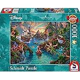 Schmidt Kinkade: Disney Peter Pan Jigsaw Puzzle (1000 pièces)