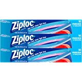 Ziploc Freezer Bags with New Grip 'n Seal Technology, Two Gallon, 10 Count, Pack of 3 (30 Total Bags)