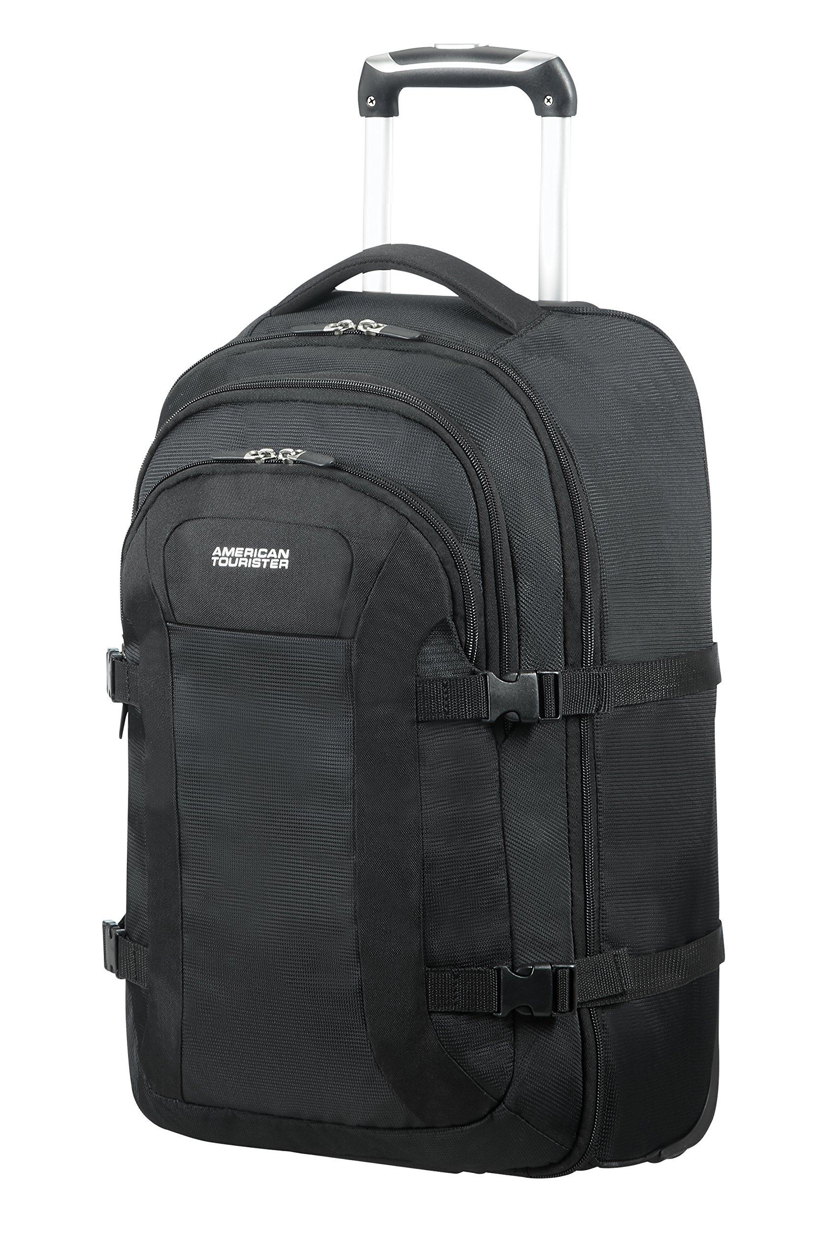 AMERICAN TOURISTER Road Quest Wheeled Laptop Backpack 15.6 Rucksack, 53 cm, 35 L