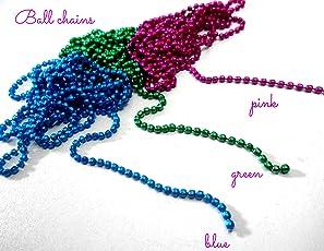 Am Ball Chains - Jewellery Making Needs