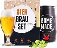Bierbrauset zum selber brauen | Pils im 5 liter Fass | In 7 Tagen fertig | Perfektes Geschenk für M?nner, Freund oder Vater |