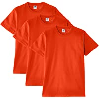 Fruit of the Loom - Heavy Cotton - T- Shirt (Lot de 3) - Homme