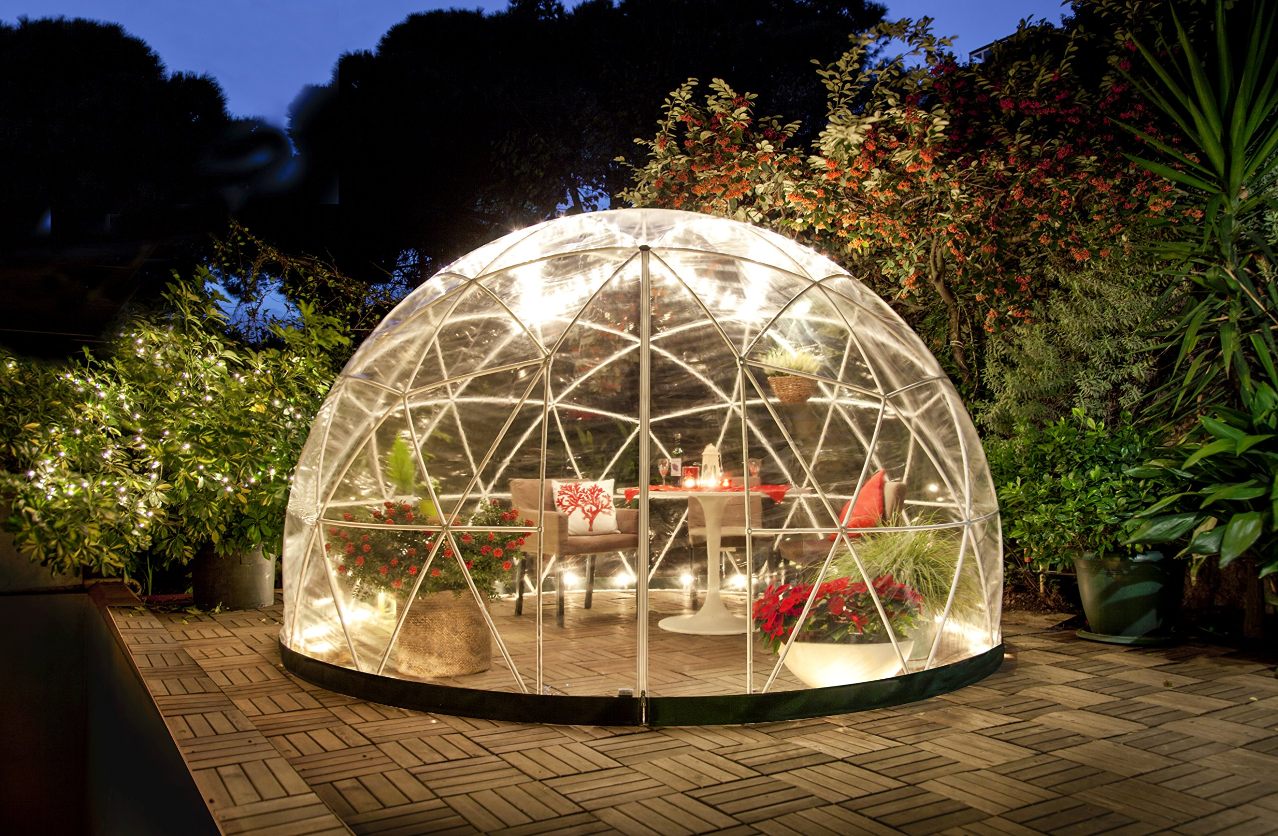 Garden Igloo 33244 Clear Greenhouse 142 X 142 X 87 inches 5