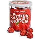 Supergarden gevriesdroogde hele aardbeien - Gezonde snack - 100% puur en natuurlijk - Veganistisch - Zonder toegevoegde suike